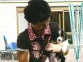 ...Monty mit 4 Wochen zum ersten Mal auf meinem Arm...