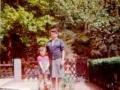 Toxi, meine Tante und ich beim täglichen Spaziergang